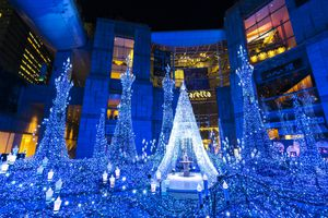 250,000 LED lights