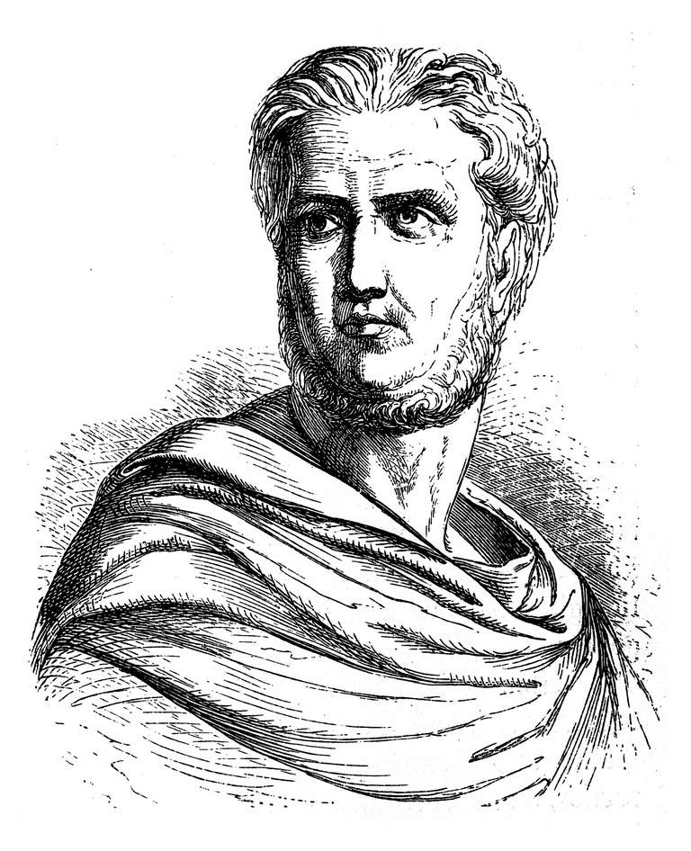 Publius, Gaius Cornelius Tacitus, AD 56 - AD 120, senator and a historian of the Roman Empire