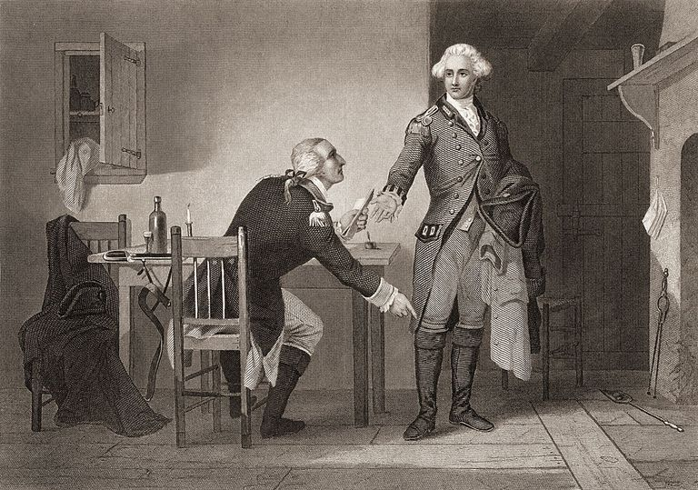 Benedict Arnold and John Andre