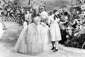 Dorothy and the Good Witch in