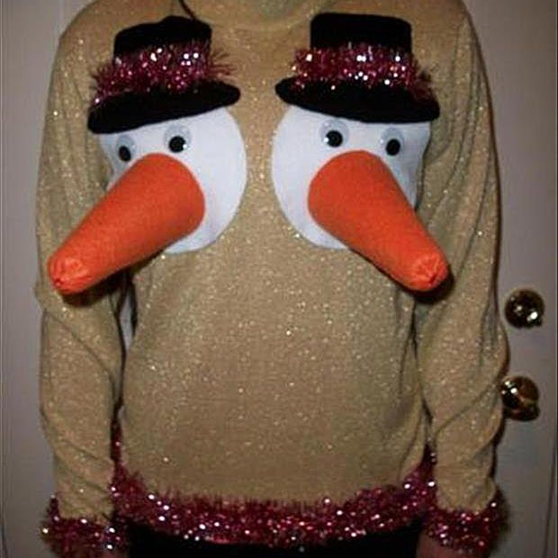 238137642de 20 of the Funniest Ugly Christmas Sweaters Ever Made