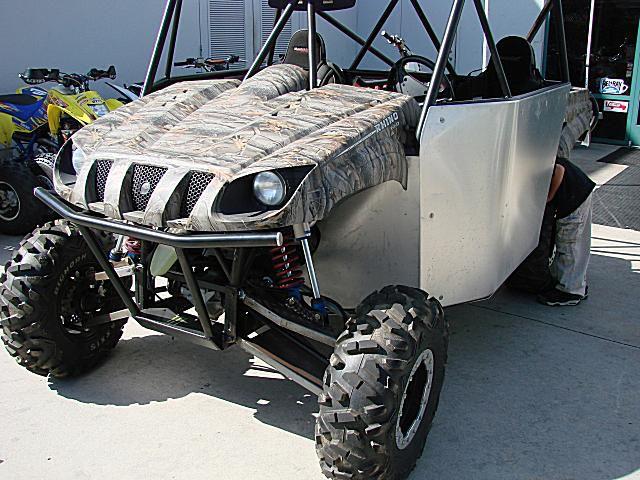 Custom Side by Side ATV