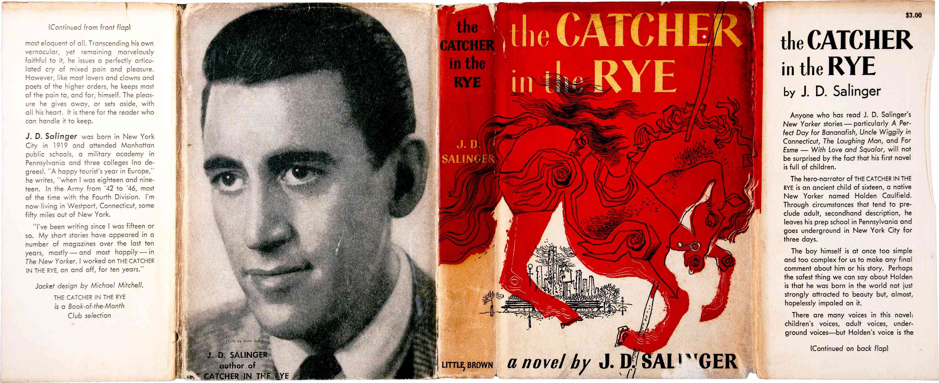 Biography Of J D Salinger American Writer