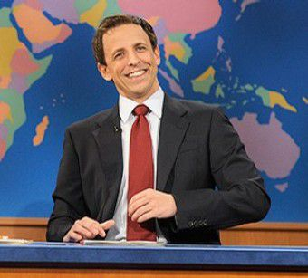 Seth Meyers SNL Weekend Update
