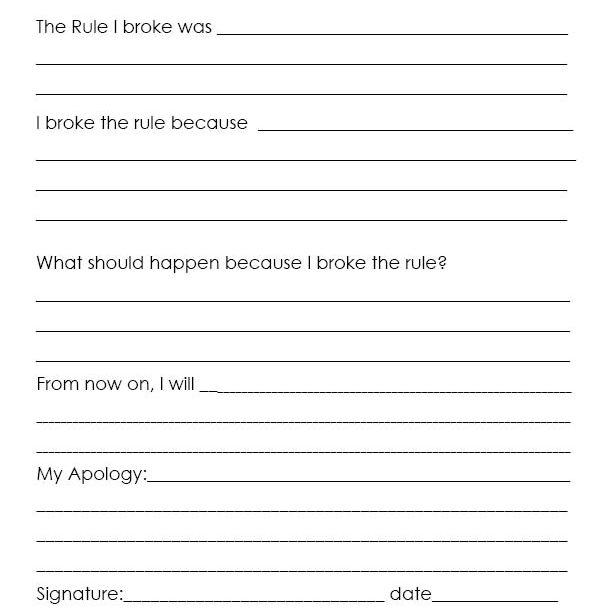 socially acceptable behaviors worksheets