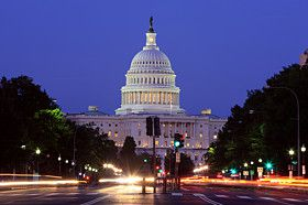 The United States Capitol in Washington D.C.