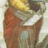 Parmenides From The School of Athens by Raphael.