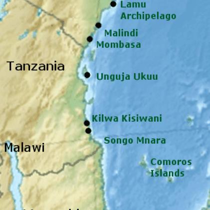 Swahili Guide - The Rise and Fall of Swahili States on great mosque of kilwa, calicut map, kalahari desert map, lake chad map, lake victoria map, gao map, guangzhou map, swahili coast map, cairo map, delhi india map, aden map, melaka map, timbuktu map, canton map, selous game reserve, taghaza map, mombasa map, baghdad on map, mecca map, sahara desert map, malindi map, djenne map,