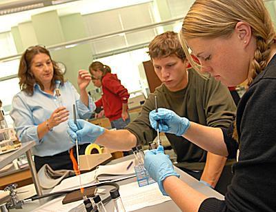 St. Lawrence University - Biology Class