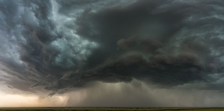 Colorado supercell 2017 representing a storm of anger