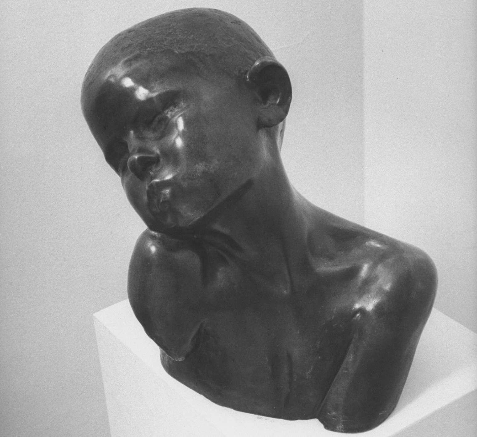 Constantin Brancusi boy sculpture