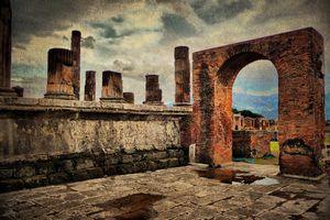 Spanish ruins for grammar lesson