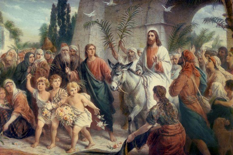 Jesus Christ's triumphal entry into Jerusalem