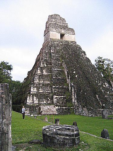 Jaguar Temple at Tikal, Guatemala
