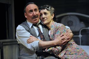 UK -The Royal Shakespeare Company's production of Arthur Miller's Death of a Salesman at the Royal Shakespeare Theatre i