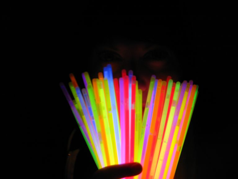Glow sticks are an example of chemiluminescence.