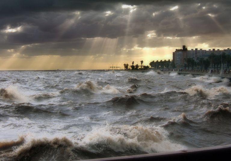 Montevideo storm