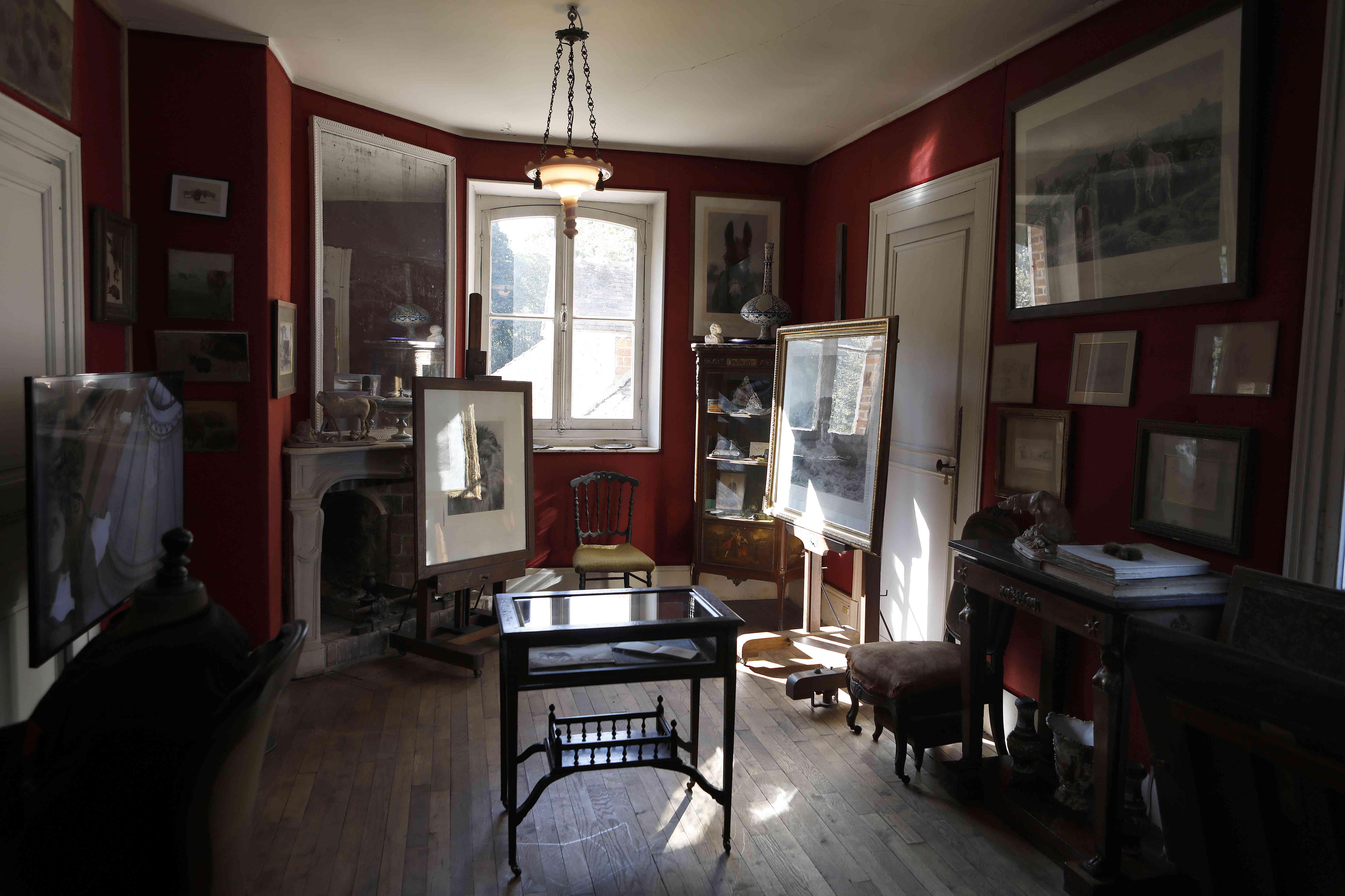 Emmanuel and Brigitte Macron Launch Heritage Days At Rosa Bonheur's Home Studio