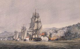 Fighting at Valcour Island