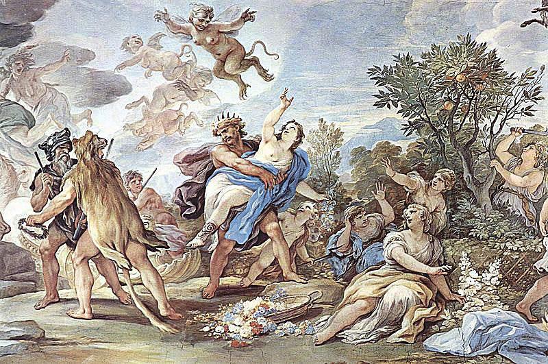 Rape of Persephone, by Luca Giordano. 1684-1686.
