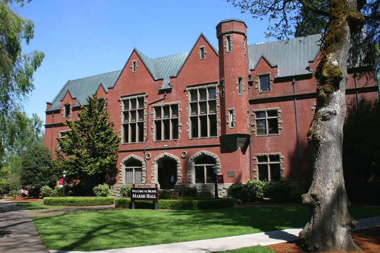 Marsh Hall at Pacific University