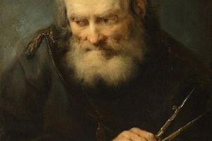 Color portrait of Archimedes.