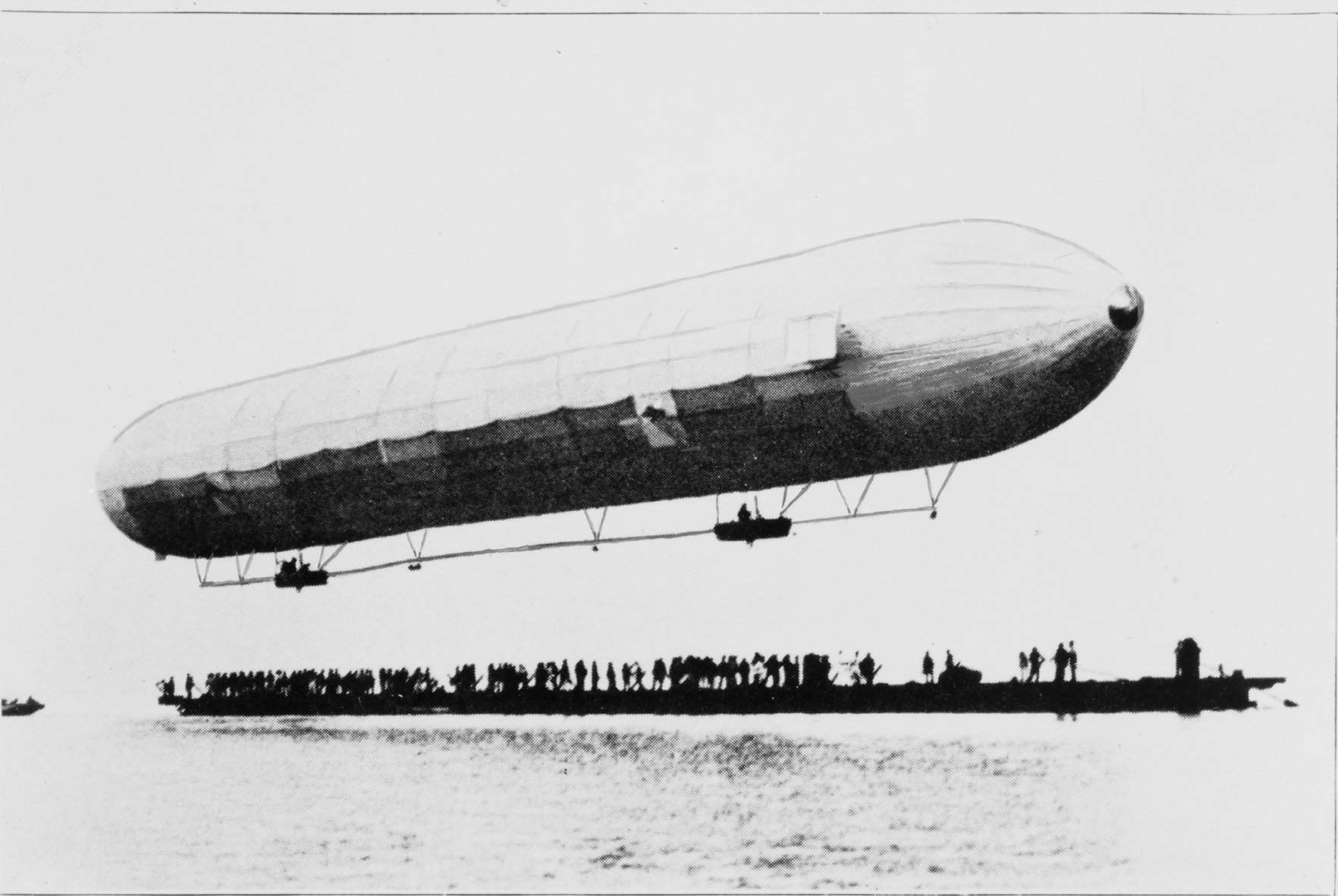 The first ascent of the LZ-1 – July 2, 1900