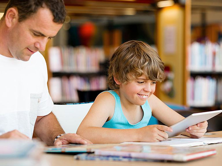 Studying Together with Your Child - Shutterstock