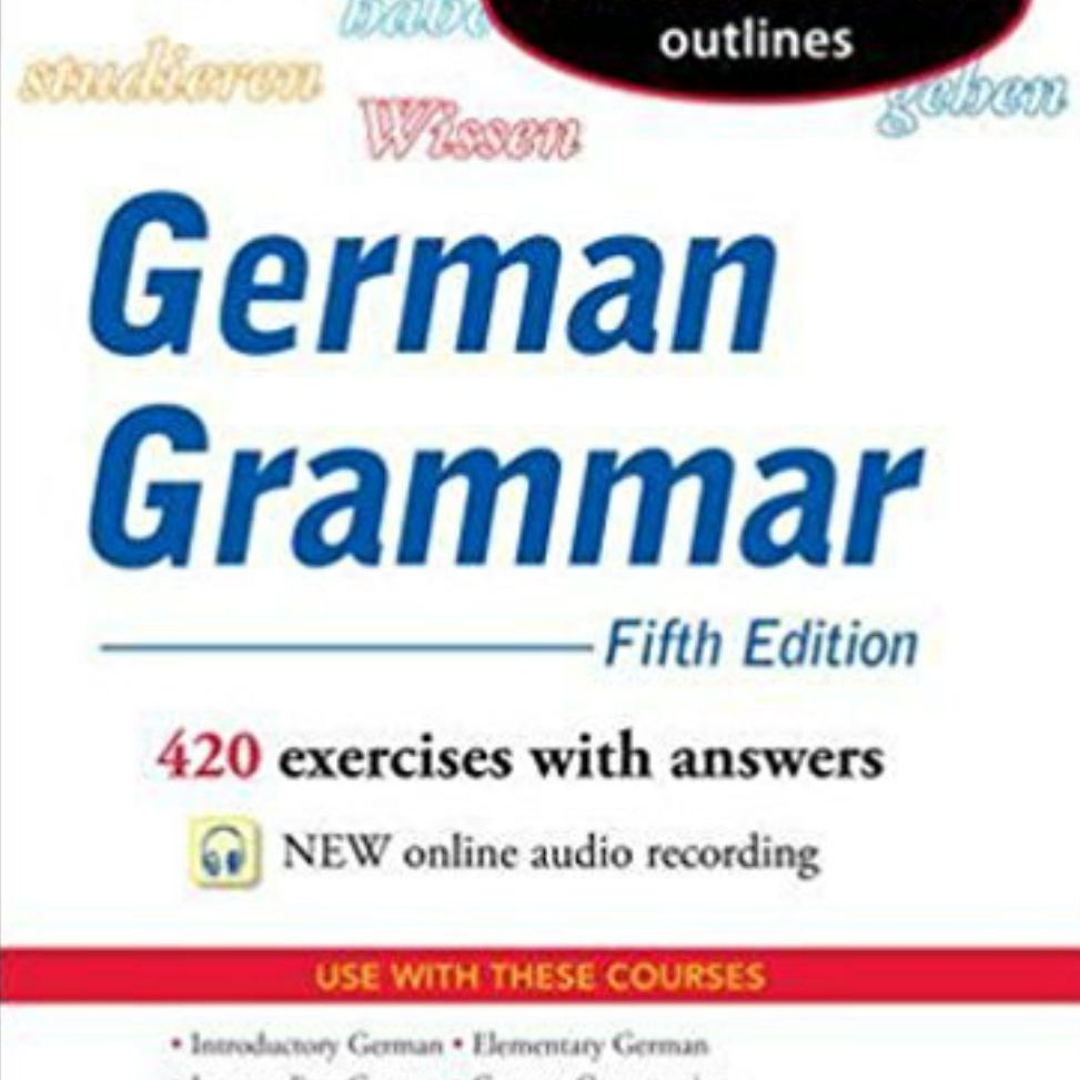 The 6 Best German Grammar Books of 2019