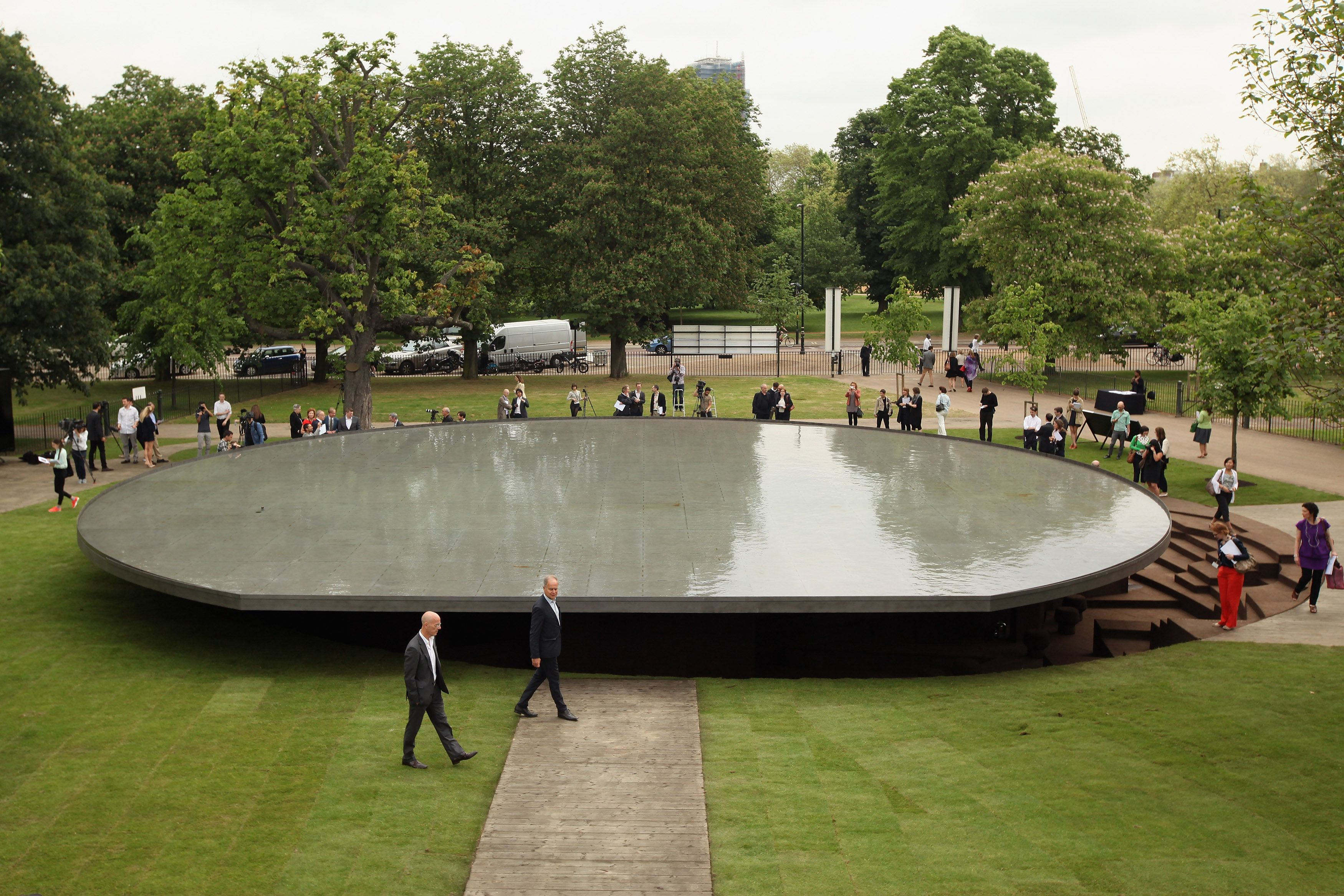 The Serpentine Gallery Pavilion 2012 Designed By Herzog and De Meuron and Ai Weiwei