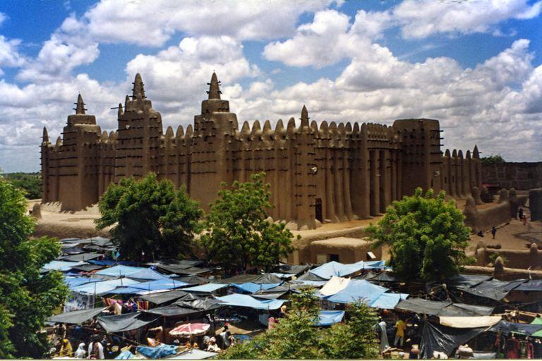 Mezquita de Djenne (Mali)