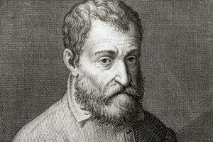 Italian Renaissance Architect Giacomo Barozzi da Vignola, c. 1560