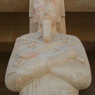 Statue of Hatshepsut. Deir al-Bahri, Egypt