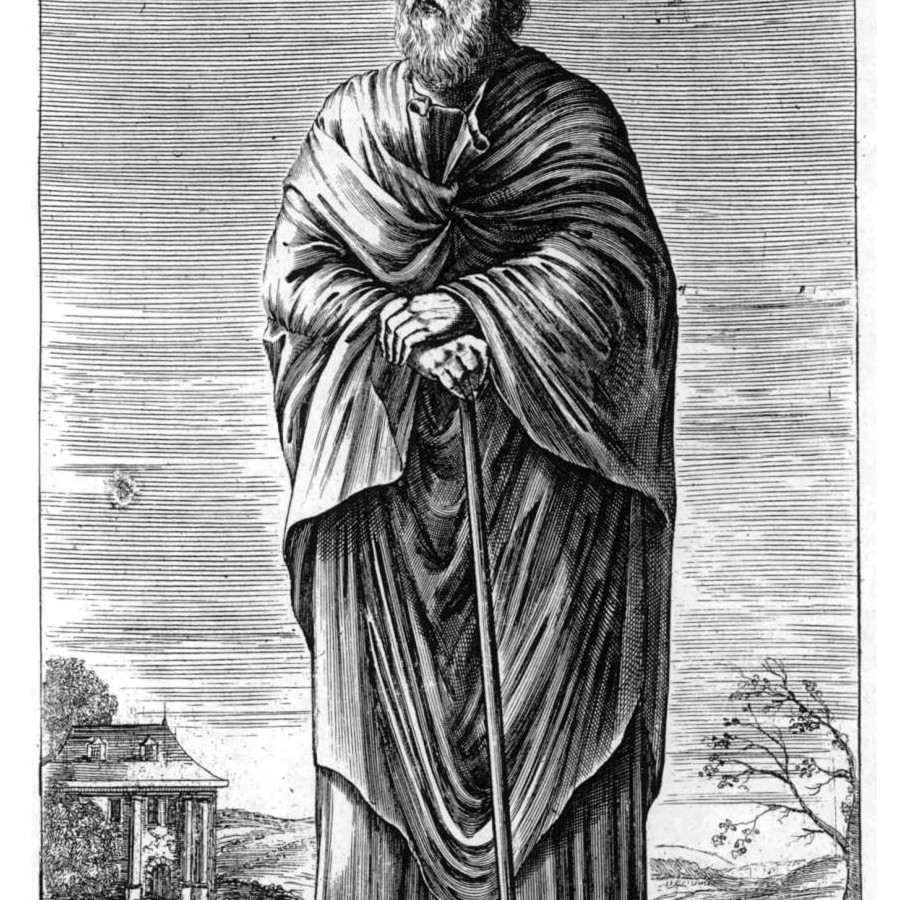 Xenophanes, ancient Greek philosopher.