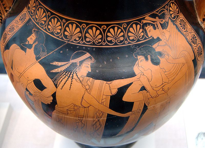 Euthymides Red-Figure Amphora