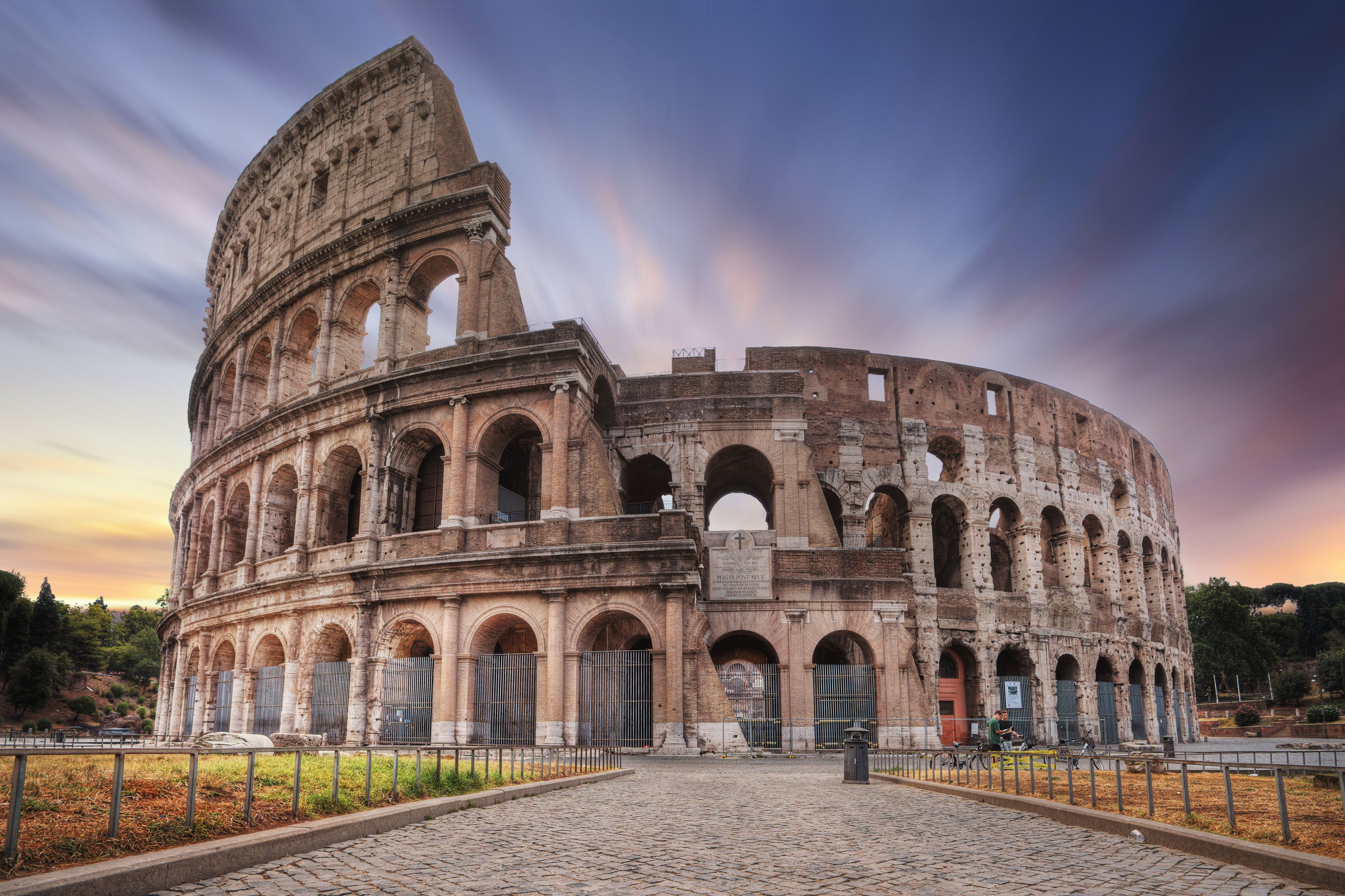 Sunrise at the Colosseum, Rome, Italy