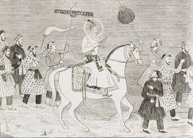 Emperor Aurangzeb of India's Mughal Dynasty