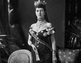 Portrait of Alexandra circa 1880