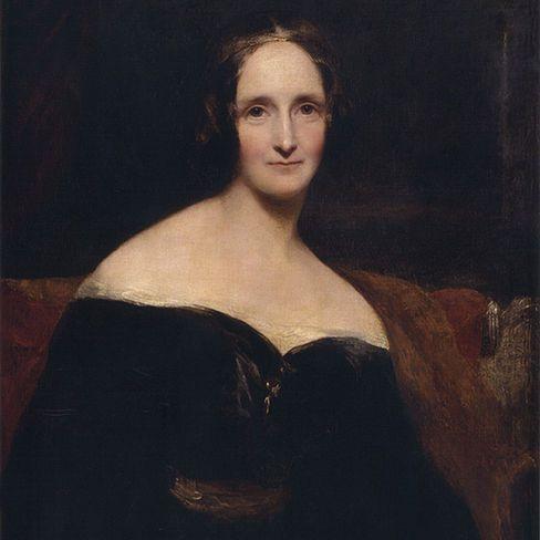 Mary Shelley (c.1840) de Rothwell