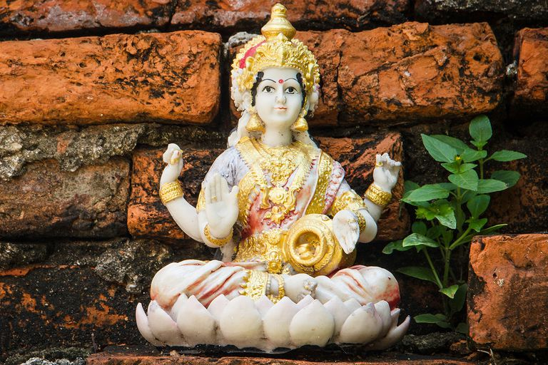 An Introduction To Lakshmi The Hindu Goddess Of Wealth And Beauty