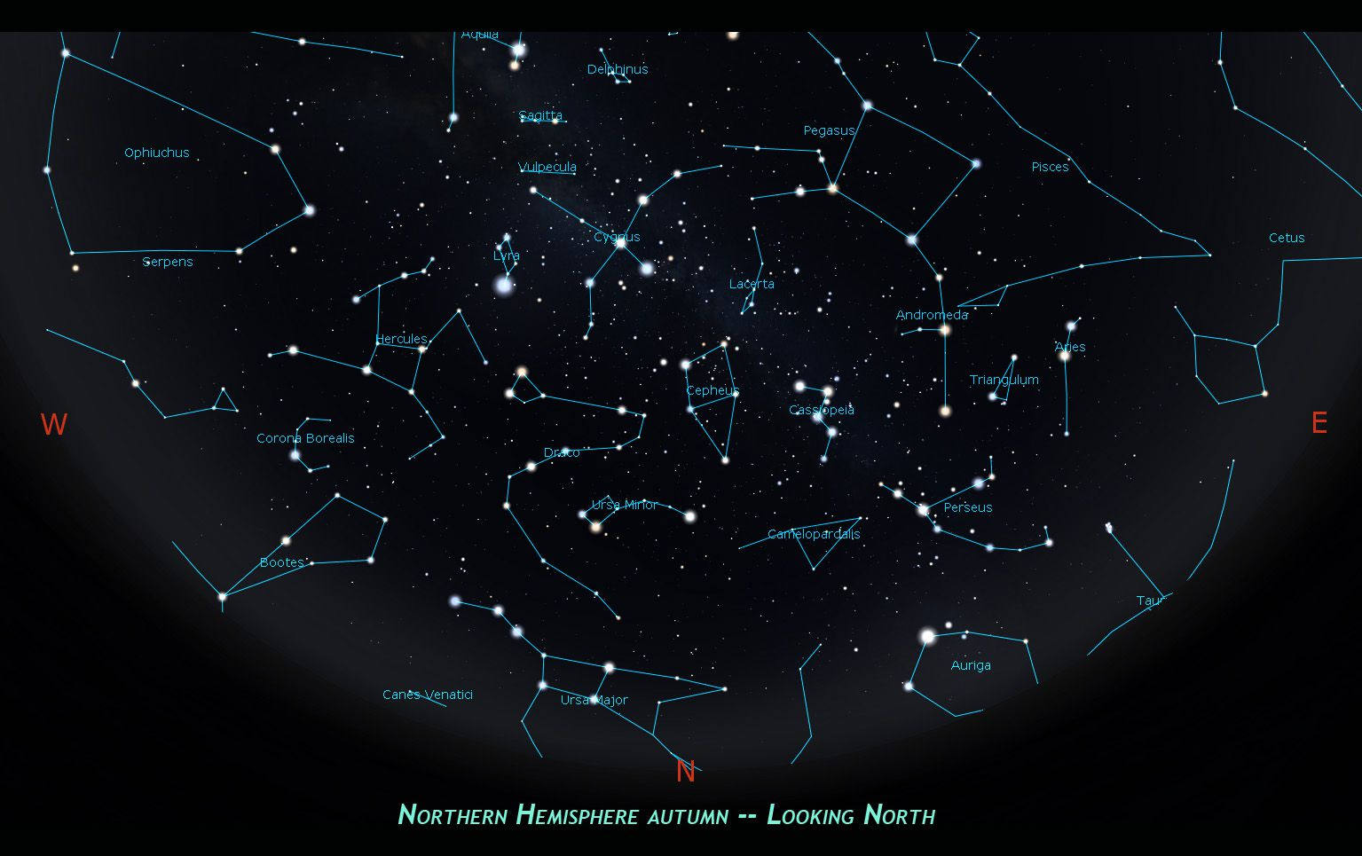 The Andromeda Constellation | Learning the Night Sky