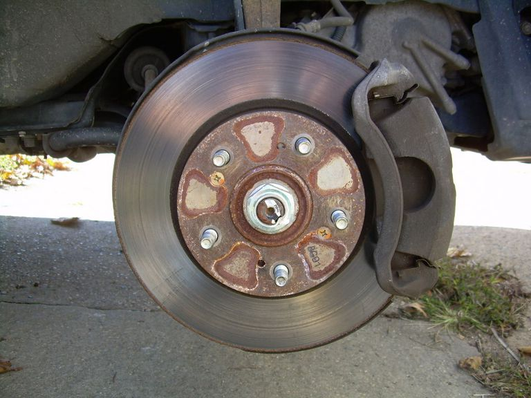 Removing The Wheel To Change Your Brake P