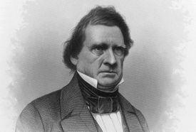 Engraved portrait of Senator William Marcy