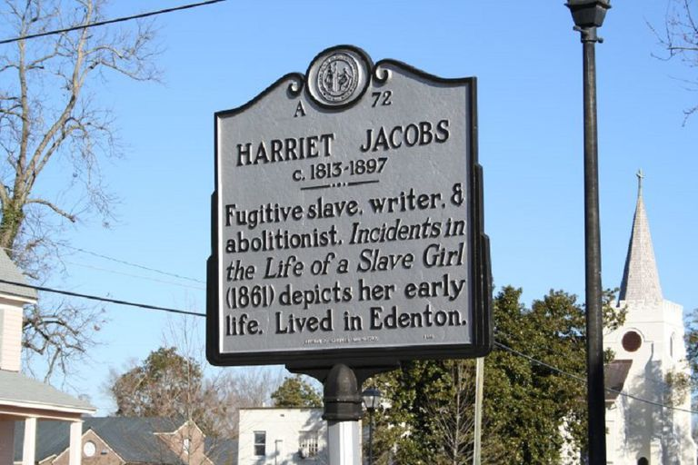Harriet Jacobs historical marker.