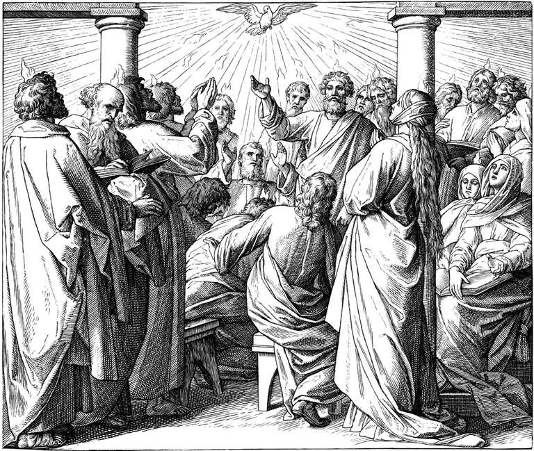 The First Pentecost