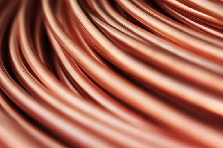 macro copper wire photo