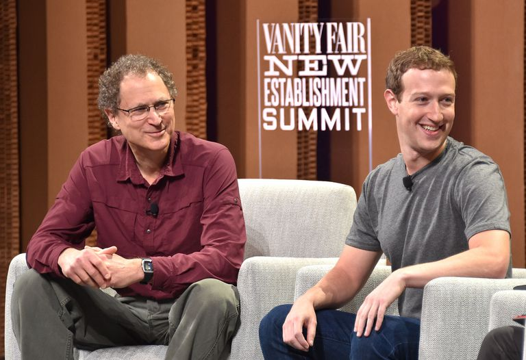 Mark Zuckerberg speaks with Michael Abrash.