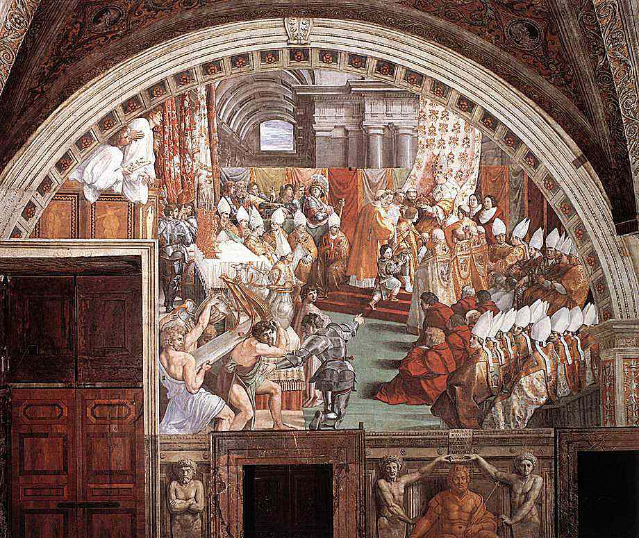 Lush depiction by Raphael Sanzio