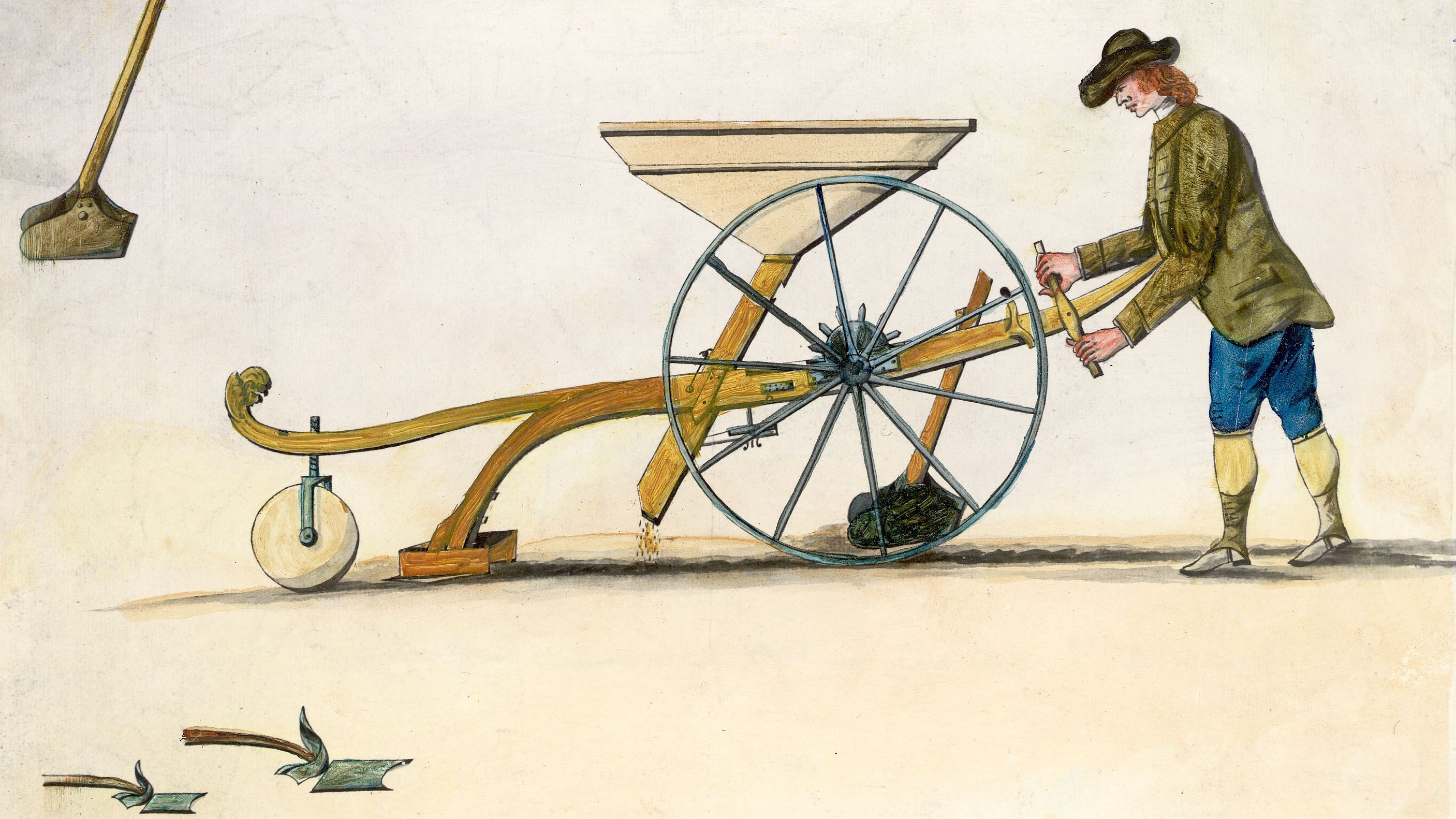Jethro Tull and the Invention of the Seed Drill