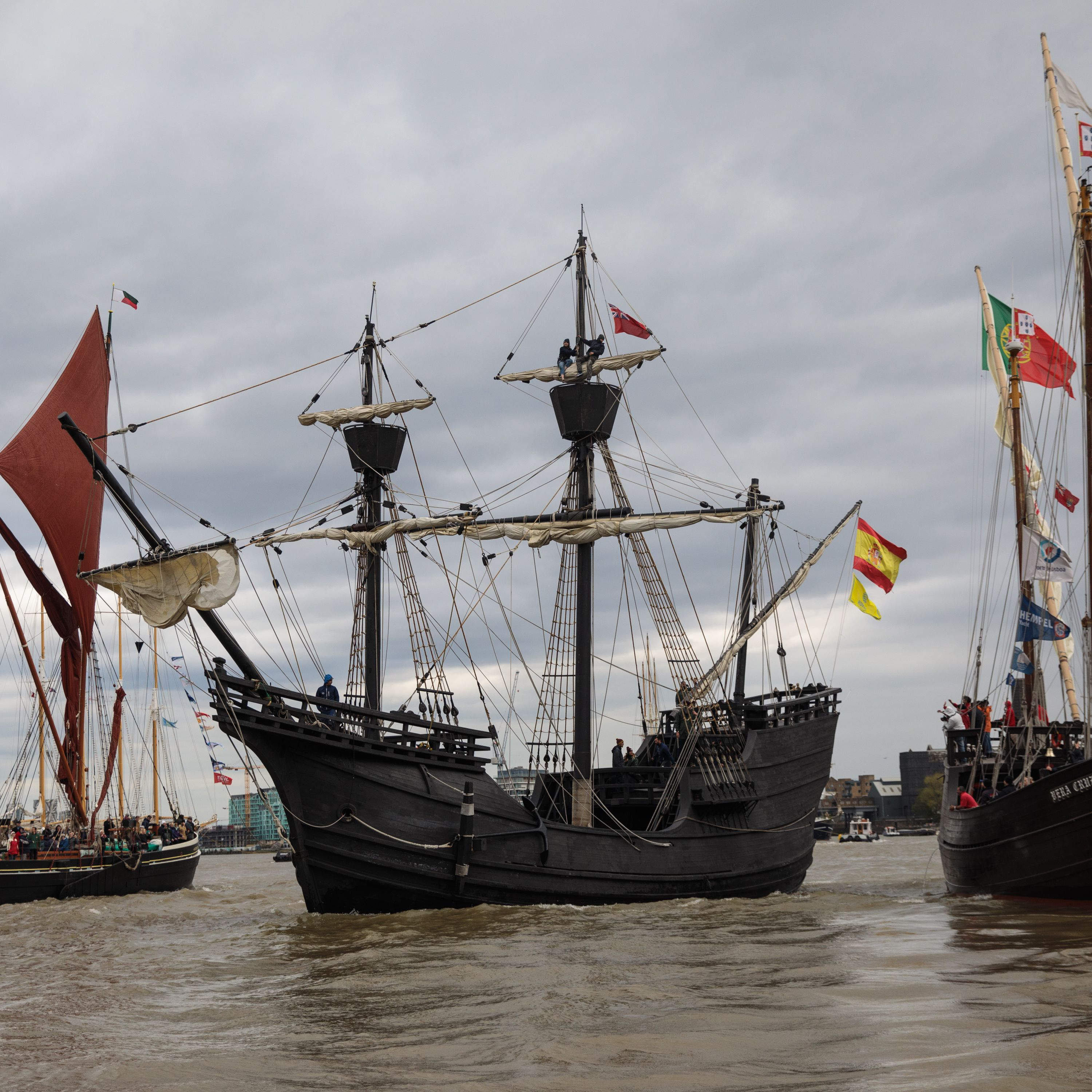 7 Famous Pirate Ships